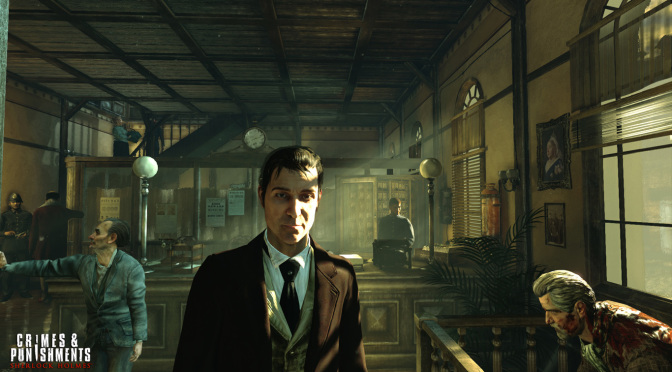 GFB Video Game Book Club: Sherlock Holmes: Crimes & Punishments – Episode 1